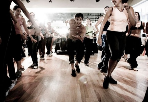 Zumba dance lessons