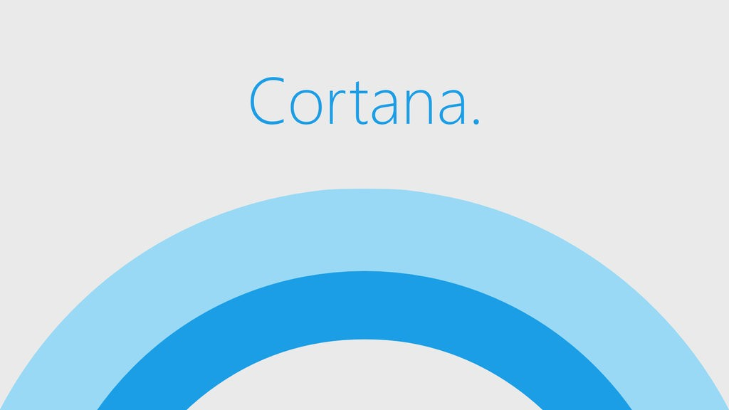 Cortana Micrsoft Windows 10