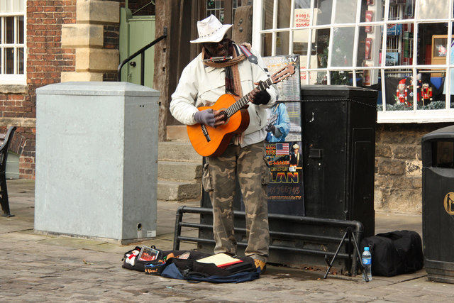 Time to busk your way to fame