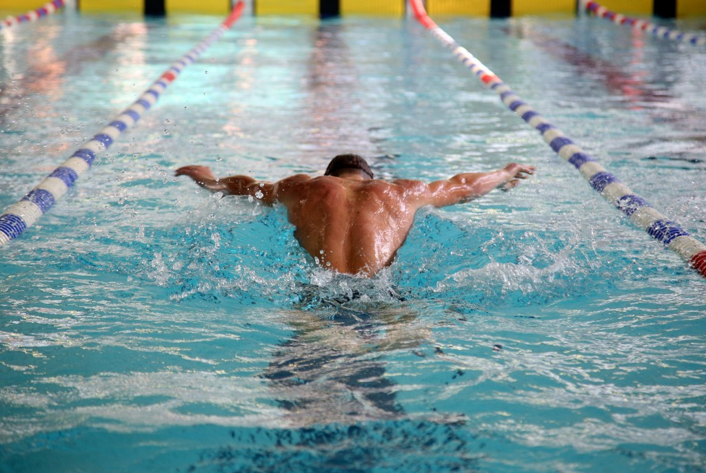 Swimming exercise strength fitness