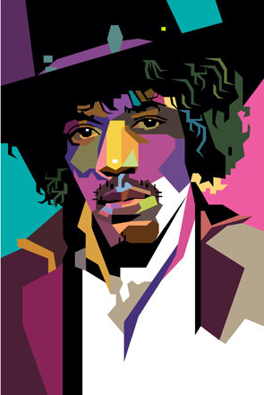 Jimi Hendrix, the legend of legends